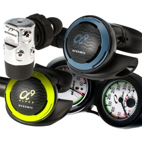 Oceanic Alpha 9 CDX5 Regulator Package