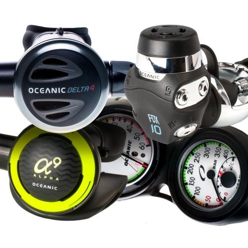 Oceanic Delta 4 FDX10 Regulator Package