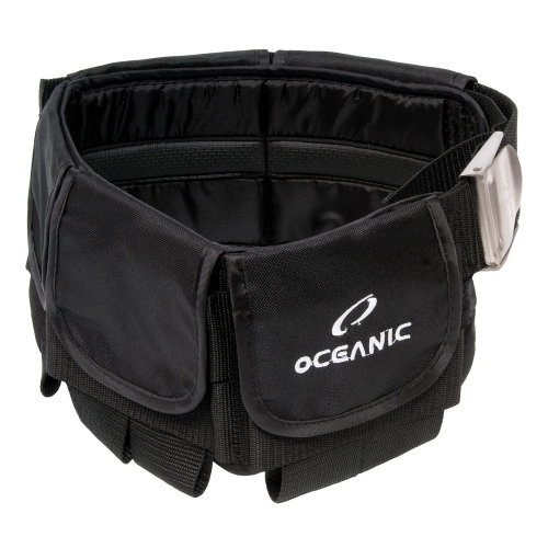 Oceanic Deluxe Weight Belt - Black