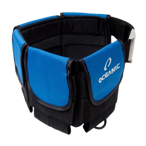 Oceanic Deluxe Weight Belt - Blue