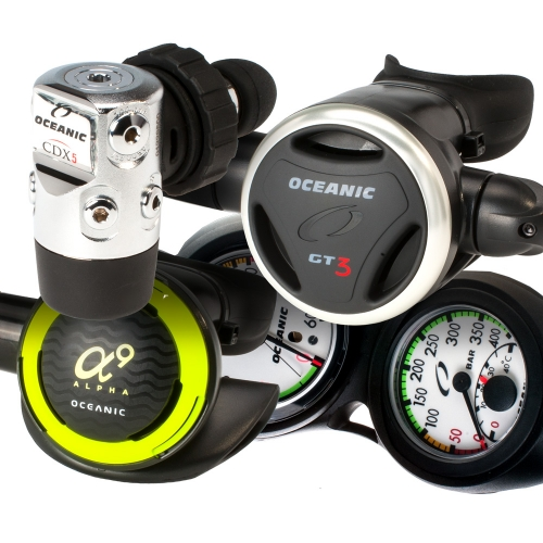 Oceanic GT3 CDX5 Regulator Package