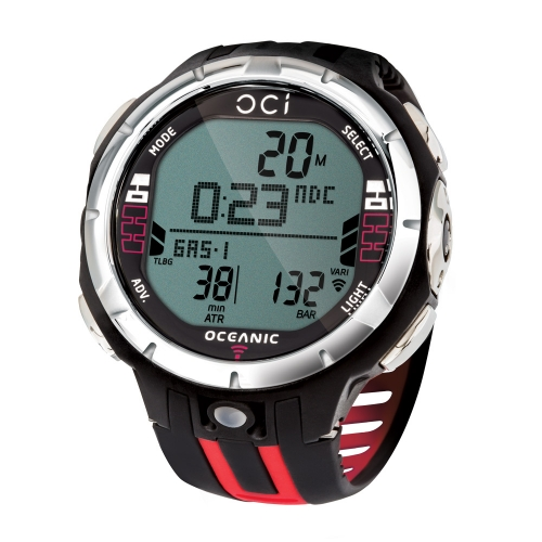 Oceanic OCi Dive Computer - Red
