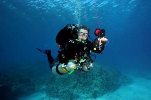 Tri Mix K : Tec trimix blue ocean diving