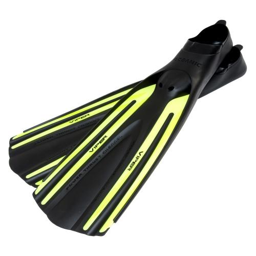 Oceanic Viper Full Foot Fins - Yellow