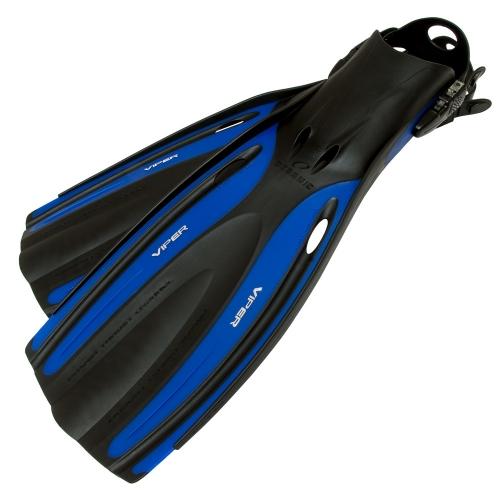 Oceanic Viper Open Heel Fins - Blue