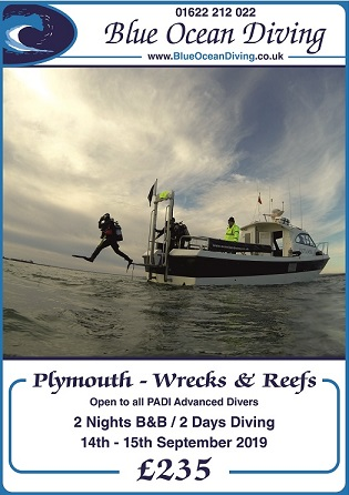 Plymouth Wreck Diving