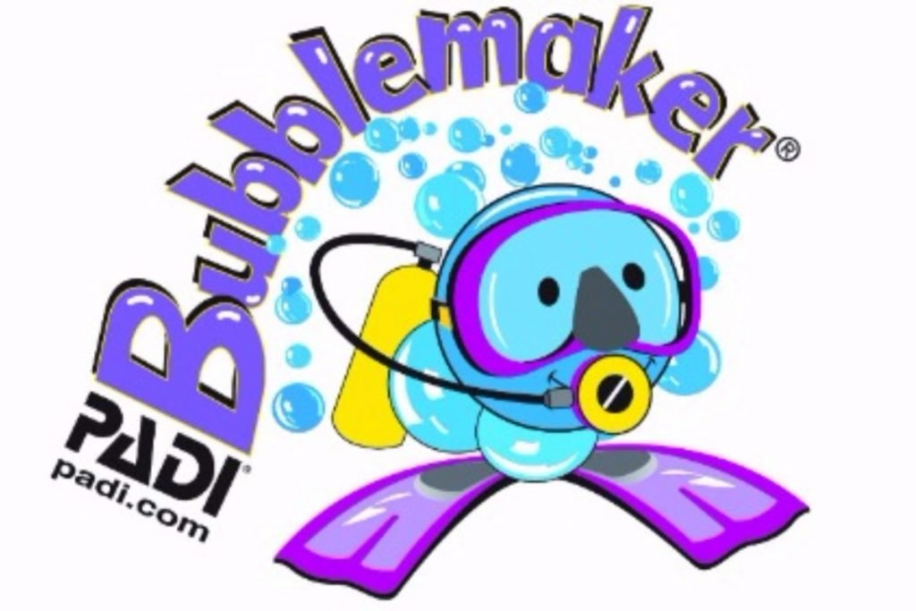 PADI Bubblemaker Course Blue Ocean Diving